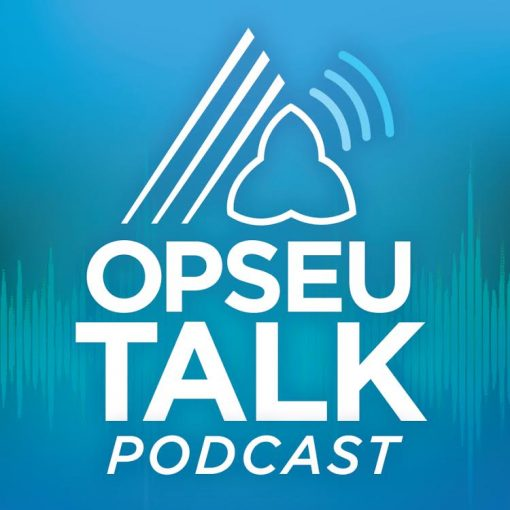OPSEU SEFPO / Talk Podcast logo